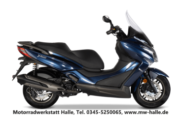 Kymco X-Town 300i ABS, Deep Blue Metallic