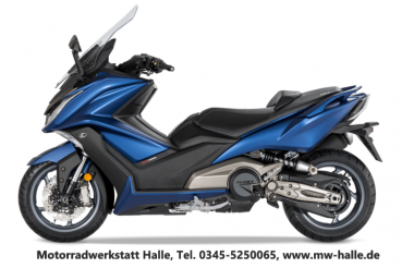 Kymco X-TOWN 125i ABS E4 - Deep Blue matt