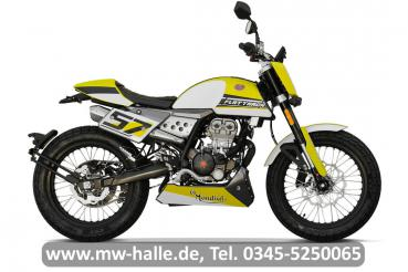 Mondial Flat Track 125i ABS E5, gelb