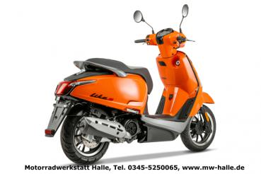 Kymco Like II S 125i CBS, orange glänzend