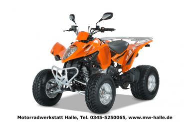 MAXXER 300 Onroad LOF Kymco orange
