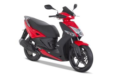 Kymco Agility City + 125i CBS, Bright Red